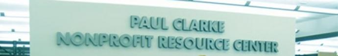 The Paul Clarke Nonprofit Resource Center at the Allen County Public Library