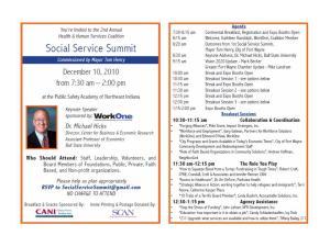 Social Service Summit 10