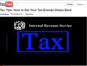 IRS YouTube