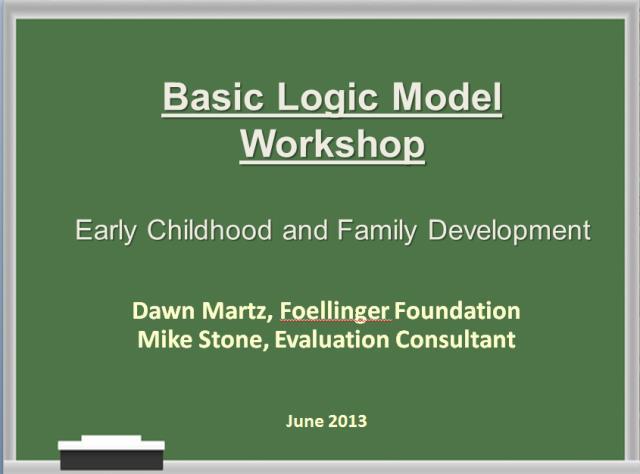 Logic Model 6.13