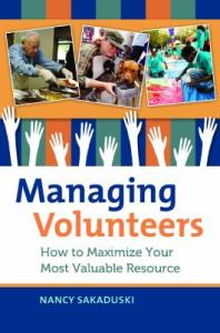 managing volunteers book